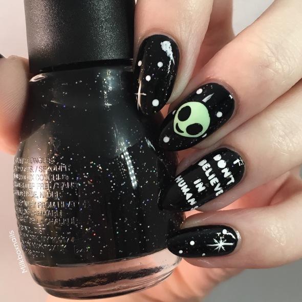 Alien Nail Art Milkboxnails